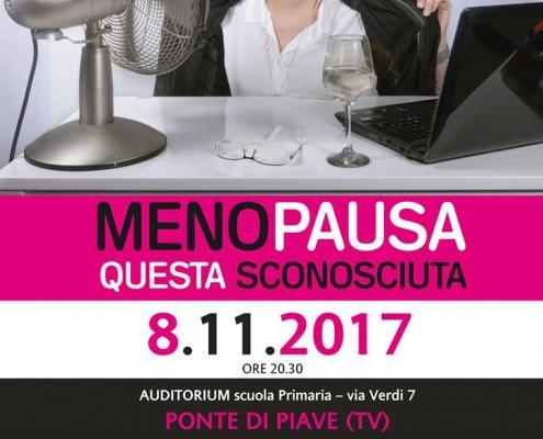 Locandina Evento Menopausa